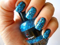 The Blue nail polish.  Part of the Urban Lacquer General Collection.  photo courtesy of polishpalooza.com.