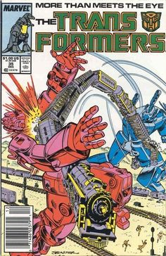 Transformer Comics by Marvel | Transformers (1984 Marvel) 1st Printing comic books