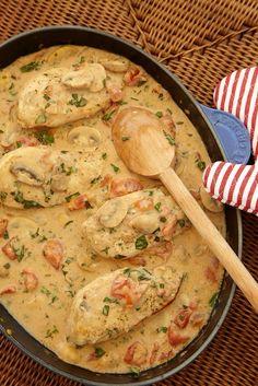 Chicken Chasseur, Beverly Hills Kitchen, Alex Hitz - making for dinner tonight!