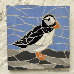 #mosaic #puffin - loved seeing them on the #tv #programme #bbc1 #blueplanet