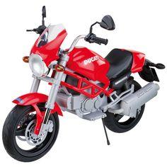 DUCATI MONSTER ELETTRICA  Riproduzione Monster Ducati a motore elettrico per bimbi.  Prezzo €290,50