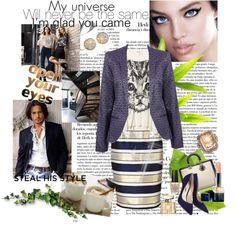 """""""Cat Eyes"""" by judysingley-polyvore ❤ liked on Polyvore"""