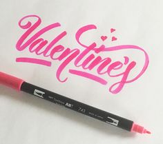 Lettering by Colin TierneyMedium used: Tombow Dual Brush Pen