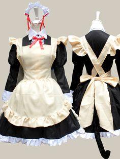 Oreimo Kirino Kosaka Cosplay Maid Costume Long Sleeve Skirt Suit Anime Lolita Maid Dress Skirt NEW Costume Dress, Cosplay Costumes, Little Sister Cosplay, Maid Outfit Cosplay, Cheap Dresses, Nice Dresses, Baby Boy Suit, Maid Dress, Black Party