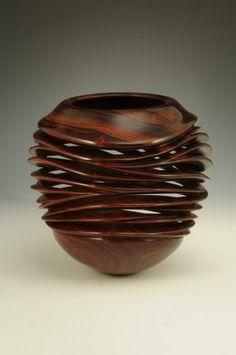 "*Wood Sculpture- ""A River Runs Through It"" by William Hunter"