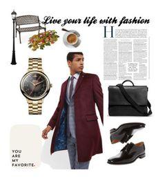 """man's Lifestyle"" by lejla-lelika ❤ liked on Polyvore featuring Ted Baker, Loake, Vivienne Westwood, Shinola, Gama Sonic, men's fashion and menswear"