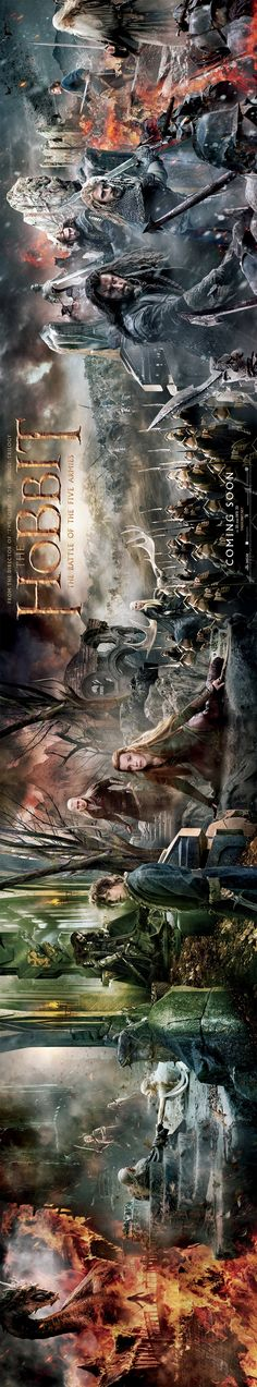 "THEY RELEASED A TAPESTRY POSTER FOR BATTLE OF THE FIVE ARMIES AND I CAN""T EVEN IT""S SO BEAUTIFUL AAAAAAAAHHHHHHH"