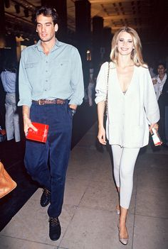 Here's What Model-Off-Duty Style Looked Like in the '90s via @WhoWhatWear