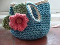 Cute little bags - CROCHET