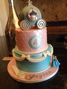 Cinderella cake by Cuteology