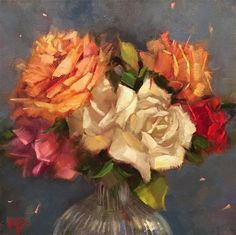 """Daily Paintworks - """"Forever"""" - Original Fine Art for Sale - © Krista Eaton"""