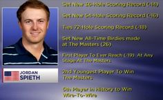 Spieth makes history, takes Green Jacket History Taking, Jordan Spieth, Green Jacket, All About Time, Golf, News, How To Make, Green Cargo Jacket