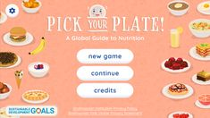 Pick Your Plate! A Global Guide to Nutrition