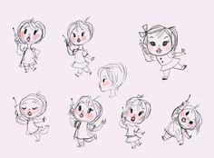 Cute Girl Sketches