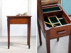 イギリスアンティーク家具ソーイングボックステーブルK 155 Antique sewing goods ¥32000yen 〆04月06日
