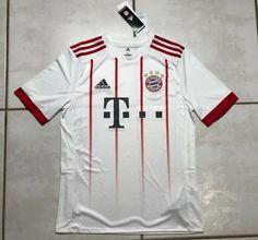 NWT ADIDAS Bayern Munich 2017/2018 THIRD Jersey Youth XL AZ7716 MSRP $70  | eBay Soccer Shirts, Adidas, Munich, Ronaldo, Third, Youth, Ebay, Soccer, Bavaria