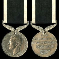 New Zealand Service Medal (WWII)