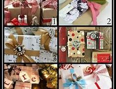 photos of creatively wrapped christmas gifts - Bing Images