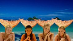 Mermaids from H2O Just Add Water