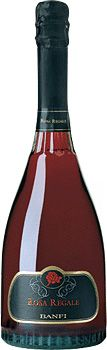 Red Champagne... Banfi Rosa Regale.+ My favorite ever!! Taste wonderful!