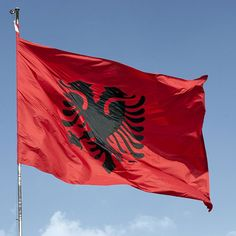 Soccer Nation Flag ALBANIA (3ft x 5ft, 150x90cm)