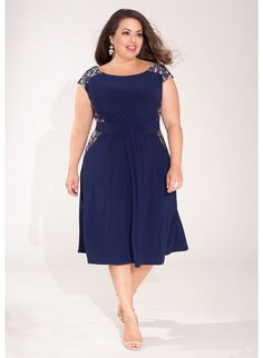 Tamara Dress in Navy + just for fun and to remember