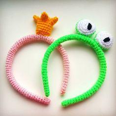 #crown #princess #pink #frog #hairaccessories #hairbow #hairheadband #onetsy #etsy #etsyshop #crochet #instacrochet #knitting #instaknit #amigurumi #weamiĝuru #weamiguru #weamigurumi #violetaowl #forgirls by violetaowl
