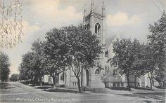 WATERTOWN WI Moravian Church Wisconsin Vintage UDB Postcard 1907