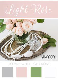 Yummi Color inspiration: Light Rose