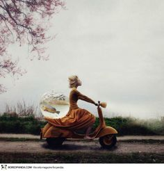 Surreal photography by Kylli Sparre.