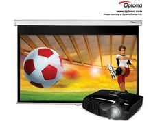 Watch the big game on the big screen. Technology retailer, Box is offering Stuff-reading footie fans the chance to win a brilliant Optoma HD131Xe Full HD 1080p 3D projector.