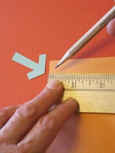 For anyone who likes creating things with paper, this is one of the best measurement shortcuts I've ever seen. I learned it in a bookbinding workshop led by Cherryl Moote. If you need to divide a rectangular sheet of paper into equal pieces...follow these steps.