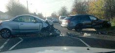 Photo : La voiture accidentée de Beckham ! - http://www.actusports.fr/126239/photo-la-voiture-accidentee-de-beckham/
