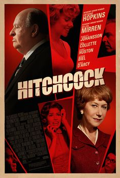 Hitchcock (2012) Iconic filmmaker Alfred Hitchcock struggles with his marriage, the censors and the financiers of his 1960 film Psycho in this biopic. Driven to prove he still has an edge, Hitchcock crafts what would become one of the greatest thrillers of all time. Anthony Hopkins, Helen Mirren, Scarlett Johansson, Danny Huston...2c