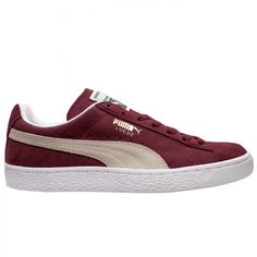 72a9ab6380e4a9 The PUMA Suede Classic in burgundy is available on CityGear.com Mens Puma  Shoes