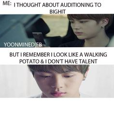 Cruel reality. Oh and I'm not Korean *cries forever* X'(