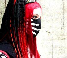 Inspiring picture cyber goth, girl, goth, gothic, mistabys. Resolution: 404x500 px. Find the picture to your taste!