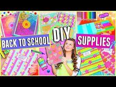 DIY School Supplies for Back to School 2015 + Giveaway!!! (Cute & Easy) ♡ Jessica Reid
