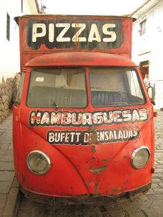 http://www.TravelPod.com - The Pizza Mobile by TravelPod member Jeffsadventures, from Cuzco, Peru