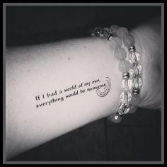 Alice in Wonderland tattoo quote Cheshire cat by SharonHArtDesigns