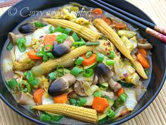 Curry and Comfort: Napa Cabbage Vegetable Stir Fry