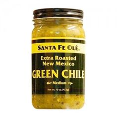Hatch Green Chile Extra Roasted Santa Fe Ole