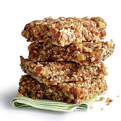 Almond-Date Bars | MyRecipes.com #myplate #glutenfree #snack
