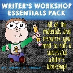 Writer's Workshop BUNDLE. This Writer's Workshop Essentials Pack includes resources for Narrative, Opinion / Argument, AND Informational Writing!  This resource is designed to help you streamline the Writing Conference process for your kids.