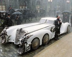 Retro-futuristic cars and more . / Captain nemo's car from the league of extraordinary gentlemen. Lovely and steampunk. Rolls Royce, Film Cars, Movie Cars, Dream Cars, Vintage Cars, Antique Cars, Automobile, League Of Extraordinary Gentlemen, Auto Retro