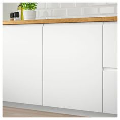 IKEA VOXTORP door The depth of the handle makes it easy to open and close the door. Ikea Family, White Appliances, Living Room Color Schemes, Scandinavian Kitchen, Scandinavian Design, Ikea Kitchen, Kitchen Doors, Kitchen Ideas, Kitchen Layouts