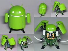 NZ-666 KSHATRIYA - Custom Android by Hitoshi Mitani