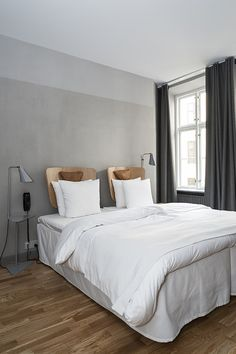 Design Hotels 2014 #9 Hotel SP34, Copenhagen Love the two tone wall detail here.