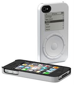 A company called Schreer Delights is selling a line of iPhone cases that reference Apple's design history, printing visual elements from the original Mac, the original iMac and the original iPod directly onto the case. Each runs a little under 50 bucks. Cool Iphone Cases, Best Iphone, Apple Iphone, Capa Apple, Ipod Covers, Iphone Accessories, Apple Products, Gadgets, Apple Case