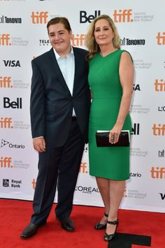 Marcy Gandolfini and Michael Gandolfini at event of The Drop (2014)